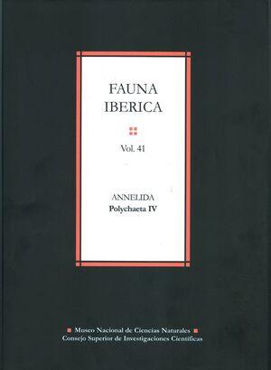 FAUNA IBÉRICA. VOL. 41. ANNELIDA: POLYCHAETA IV