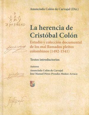 LA HERENCIA DE CRISTÓBAL COLÓN