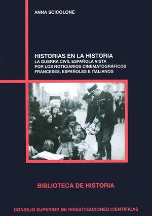 HISTORIAS EN LA HISTORIA