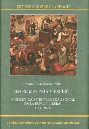 ENTRE MATERIA Y ESPÍRITU