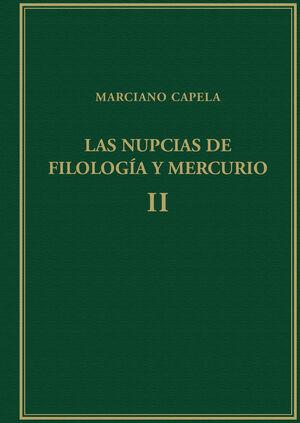 LAS NUPCIAS DE FILOLOGÍA Y MERCURIO. VOL. II: LIBROS III-V: EL TRIVIUM