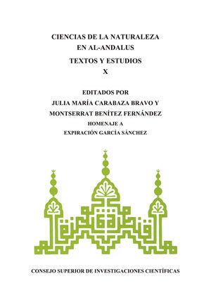 CIENCIAS DE LA NATURALEZA EN AL-ÁNDALUS: TEXTOS Y ESTUDIOS X