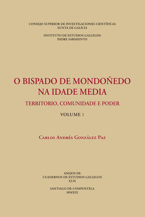 OBISPADO DE MONDOÑEDO NA IDADE MEDIA