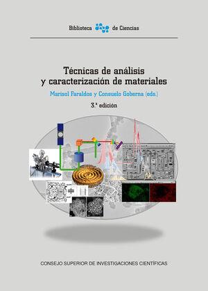 TÉCNICAS DE ANÁLISIS Y CARACTERIZACIÓN DE MATERIALES (3ª ED.)