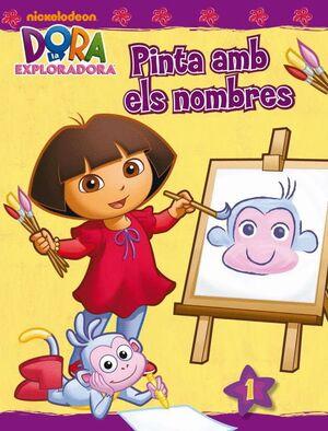 PINTA AMB ELS NOMBRES (DORA L´EXPLORADORA. ACTIVITATS)