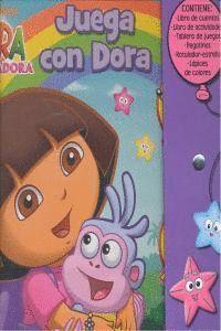 JUEGA CON DORA (DORA LA EXPLORADORA. LIBRO REGALO)