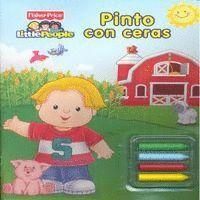 PINTO CON CERAS (FISHER-PRICE) (INCLUYE CERAS DE COLORES)