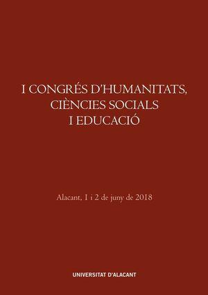 I CONGRÉS D'HUMANITATS, CIÈNCIES SOCIALS I EDUCACIÓ