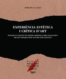 EXPERIÈNCIA ESTÈTICA I CRÍTICA D'ART