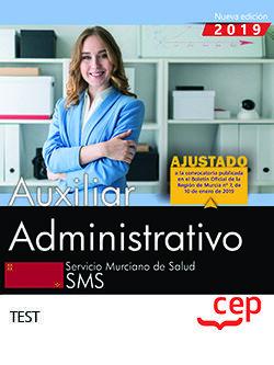 AUXILIAR ADMINISTRATIVO. SERVICIO MURCIANO DE SALUD. TEST