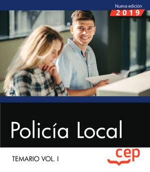 POLICÍA LOCAL. TEMARIO VOL. I