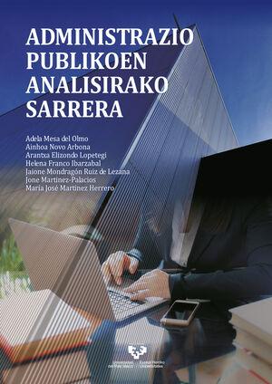 ADMINISTRAZIO PUBLIKOEN ANALISIRAKO SARRERA