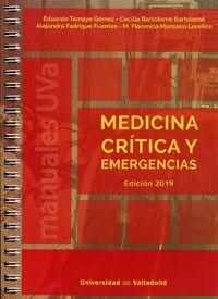 MEDICINA CRÍTICA Y EMERGENCIAS. EDICIÓN 2019