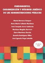 FUNDAMENTOS. ORGANIZACIÓN Y RÉGIMEN JURÍDICO DE LAS ADMINISTRACIONES PÚBLICAS
