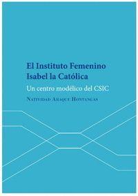 EL INSTITUTO FEMENINO ISABEL LA CATÓLICA