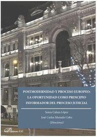 POSTMODERNIDAD Y PROCESO EUROPEO: LA OPORTUNIDAD COMO PRINCIPIO INFORMADOR DEL PROCESO JUDICIAL