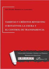 TARJETAS Y CRÉDITOS REVOLVING O ROTATIVOS