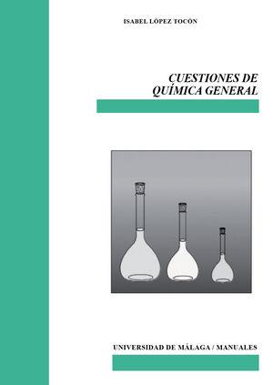 CUESTIONES DE QUÍMICA GENERAL