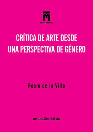 CRÍTICA DE ARTE DESDE UNA PERSPECTIVA DE GÉNERO
