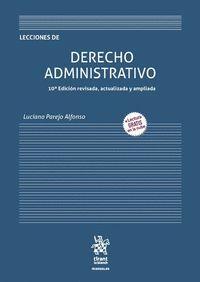 LECCIONES DE DERECHO ADMINISTRATIVO 10ª EDICIÓN 2020