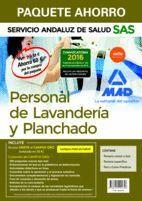 PAQUETE AHORRO PERSONAL DE LAVANDERÍA Y PLANCHADO DEL SERVICIO ANDALUZ DE SALUD. AHORRO DE 60 ? (INCLUYE TEMARIO COMÚN Y TEST; TEMARIO ESPECÍFICO; TES
