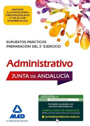 SUPUESTOS PRÁCTICOS DE ADMINISTRATIVO DE LA JUNTA DE ANDALUCÍA. PREPARACIÓN DEL 2º EJERCICIO