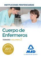 CUERPO DE ENFERMEROS DE INSTITUCIONES PENITENCIARIAS. TEMARIO VOLUMEN 2