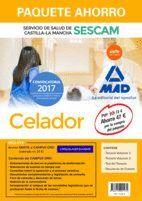 PAQUETE AHORRO CELADOR DEL SERVICIO DE SALUD DE CASTILLA-LA MANCHA (SESCAM). AHORRA 47 ? (INCLUYE TEMARIO VOLÚMENES 1 Y 2; TEST; SIMULACRO DE EXAMEN Y