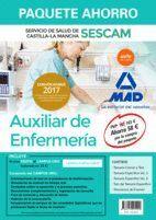 PAQUETE AHORRO AUXILIAR DE ENFERMERÍA DEL SERVICIO DE SALUD DE CASTILLA-LA MANCHA (SESCAM). AHORRA 58 ? (INCLUYE TEMARIO COMÚN Y TEST; TEMARIOS ESPECÍ