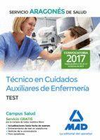 TÉCNICO EN CUIDADOS AUXILIARES DE ENFERMERÍA DEL SERVICIO ARAGONÉS DE SALUD. TEST
