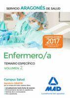 ENFERMERO/A DEL SERVICIO ARAGONÉS DE SALUD. TEMARIO ESPECÍFICO VOLUMEN 2