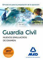 GUARDIA CIVIL. NUEVOS SIMULACROS DE EXAMEN