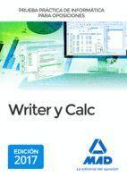 PRUEBA PRÁCTICA DE INFORMÁTICA PARA OPOSICIONES: WRITER Y CALC.