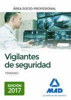 VIGILANTES DE SEGURIDAD, ÁREA SOCIO-PROFESIONAL TEMARIO