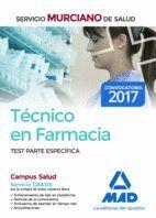 TÉCNICO EN FARMACIA DEL SERVICIO MURCIANO DE SALUD. TEST TEMARIO PARTE ESPECÍFICA (TEST 1 AL 22)