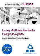 LA LEY DE ENJUICIAMIENTO CIVIL PASO A PASO. ESQUEMAS PROCESALES CIVILES