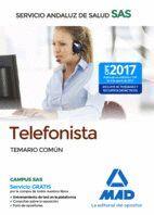 TELEFONISTA DEL SERVICIO ANDALUZ DE SALUD. TEMARIO COMÚN