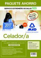PAQUETE AHORRO CELADOR/A DEL SERVICIO EXTREMEÑO DE SALUD. AHORRO DE 48 € (INCLUYE TEMARIO COMÚN Y TEST; TEMARIO ESPECÍFICO; TEST TEMARIO ESPECÍFICO; S