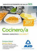 COCINERO/A DEL SERVICIO EXTREMEÑO DE SALUD (SES). TEMARIO ESPECÍFICO VOLUMEN 1