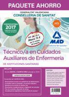 PAQUETE AHORRO TÉCNICO/A EN CUIDADOS AUXILIARES DE ENFERMERÍA DE INSTITUCIONES SANITARIAS DE LA CONSELLERIA DE SANITAT DE LA GENERALITAT VALENCIANA. A