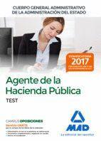 AGENTES DE LA HACIENDA PÚBLICA CUERPO GENERAL ADMINISTRATIVO DE LA ADMINISTRACIÓN DEL ESTADO. TEST