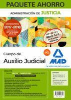 PAQUETE AHORRO AUXILIO JUDICIAL. AHORRA 63 € (INCLUYE TEMARIO VOLÚMENES 1 Y 2; TEST; PREPARACIÓN PRUEBA PRÁCTICA; SIMULACROS EXAMEN Y ACCESO CAMPUS OR