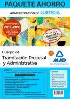 PAQUETE AHORRO TRAMITACIÓN PROCESAL Y ADMINISTRATIVA (TURNO LIBRE). AHORRA 91 € (INCLUYE TEMARIO VOLÚMENES 1, 2 Y 3; TEST; SUPUESTOS PRÁCTICOS VOLÚMEN