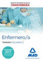 ENFERMERO/A DEL SERVICIO NAVARRO DE SALUD-OSASUNBIDEA. TEMARIO VOLUMEN 2