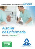 AUXILIAR DE ENFERMERÍA DE LA ADMINISTRACIÓN DEL PRINCIPADO DE ASTURIAS. VOLUMEN 2