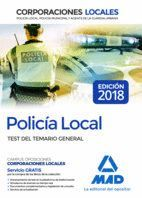 POLICÍA LOCAL TEST DEL TEMARIO GENERAL