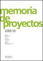 MEMORIA DE PROYECTOS 2009-10