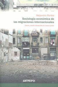 SOCIOLOGIA ECONOMICA DE LAS MIGRACIONES INTER