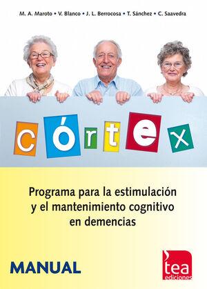 CORTEX, PROGRAMA PARA LA ESTIMULACIÓN Y EL MANTENIMIENTO COGNITIVO EN DEMENCIAS