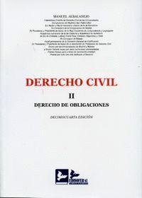 DERECHO CIVIL II DERECHO DE OBLIGACIONES